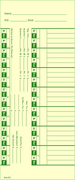timecard form